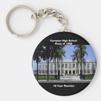 Front-CHS, Compton High SchoolClass of 1998, 10... Basic Round Button Key Ring