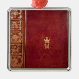 Front Cover of Johnson's Dictionary Christmas Ornament