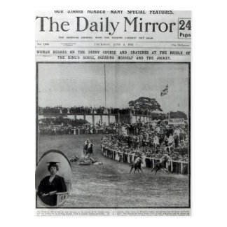 Front cover of The Daily Mirror Postcards