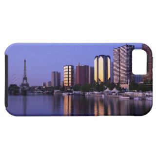 Front du Seine and Eiffel Tower, Paris, France iPhone 5 Case