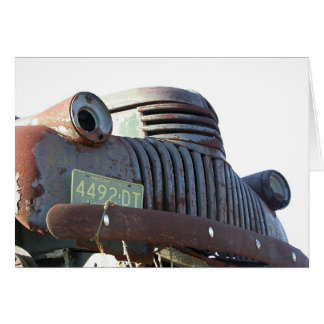 Front Grill, 54 Chevy Card