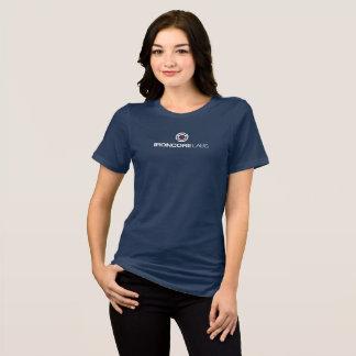 Front logo ladies bella blue T-Shirt
