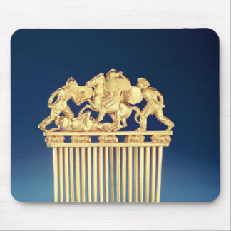 Front of a Scythian comb Mouse Mat