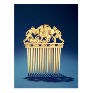 Front of a Scythian comb Postcard