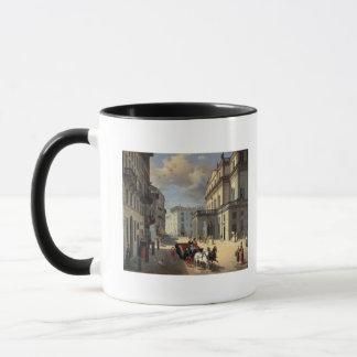 Front of La Scala Theatre, 1852 Mug