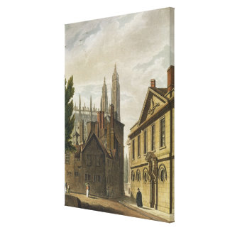 Front of Trinity Hall, Cambridge, from 'The Histor Canvas Print