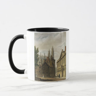 Front of Trinity Hall, Cambridge, from 'The Histor Mug