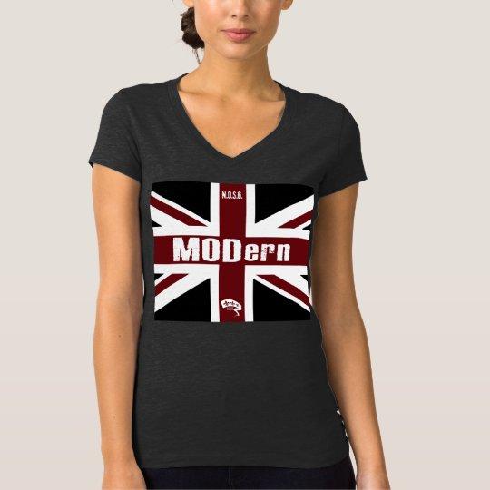 """(front only) NOSG """"MODern black Jack"""" T-Shirt"""