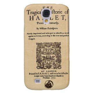 Front Piece to Hamlet Quarto 1605 version Galaxy S4 Cover