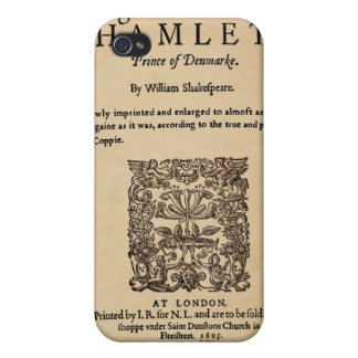 Front Piece to Hamlet Quarto (1605 version) iPhone 4/4S Cases