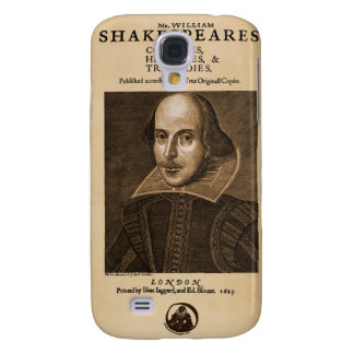Front Piece to Shakespeare s First Folio Samsung Galaxy S4 Cover