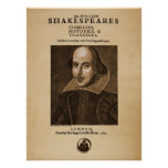 Front Piece to Shakespeare's First Folio