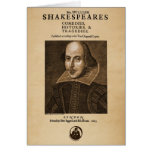 Front Piece to Shakespeare's First Folio Greeting Card
