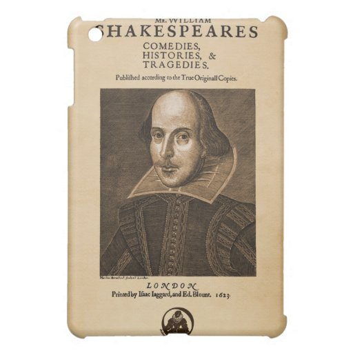 Front Piece to Shakespeare's First Folio iPad Mini Cases