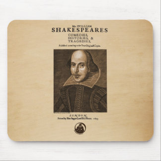 Front Piece to Shakespeare's First Folio Mouse Mat