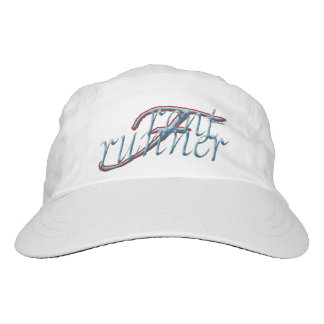 """""""Front Runner"""" Custom Woven Performance Hat, White Hat"""