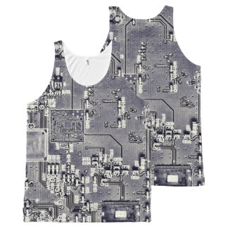 Front Side Bus Ride All-Over Print Tank Top