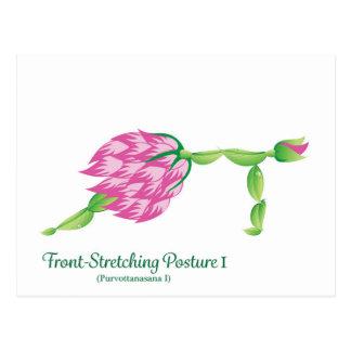 (Front-Stretching Posture I) Postcard