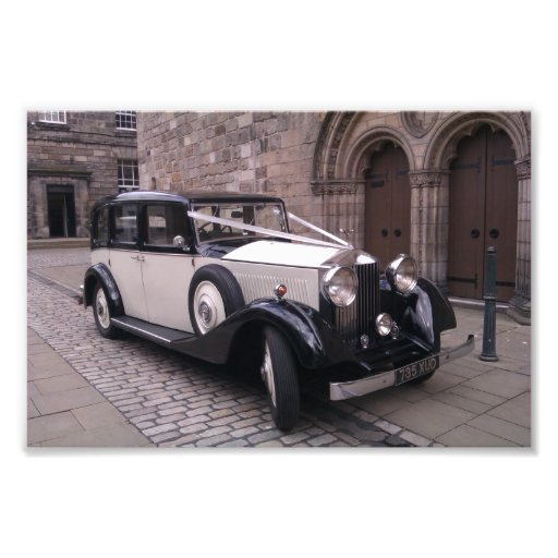 Front View of 1936 Rolls Royce 20/25 Photographic Print