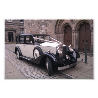 Front View of 1936 Rolls Royce 20/25 Photo Print