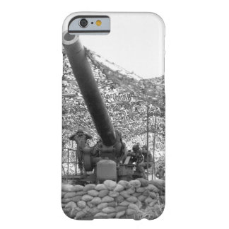 Front view of 240mm howitzer of_War Image Barely There iPhone 6 Case