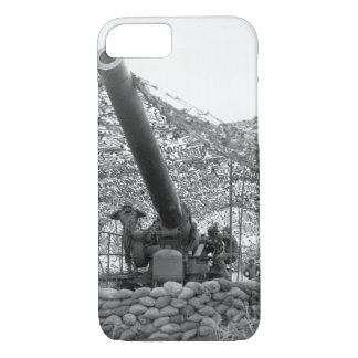 Front view of 240mm howitzer of_War Image iPhone 7 Case