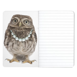 Front view of a Young Little Owl Journal
