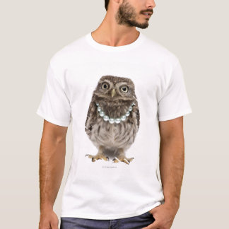 Front view of a Young Little Owl T-Shirt