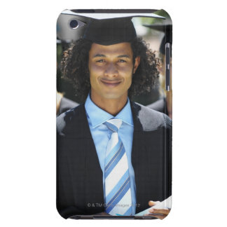 Front view portrait of four young people iPod Case-Mate cases