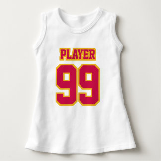 Front WHITE CRIMSON RED GOLD Dress Football Jersey