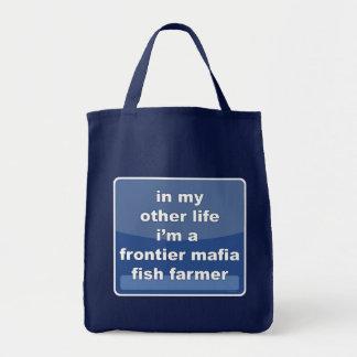 Frontier Mafia Fish Farmer Grocery Tote Bag