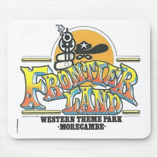 Frontierland Morecambe England Amusement Park Mouse Pad