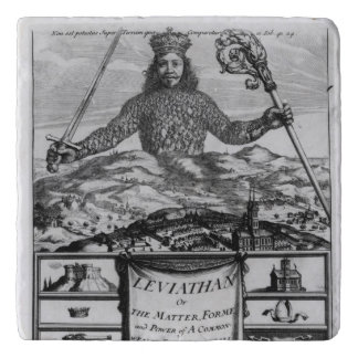 Frontispiece by Thomas Hobbes  of Malmesbury Trivet