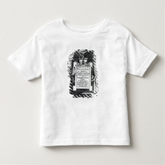 Frontispiece for 'Argenis' by John Barclay Toddler T-Shirt