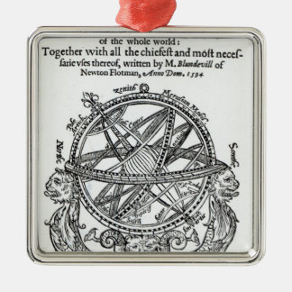 Frontispiece from 'A Plain Treatise �' Christmas Ornament