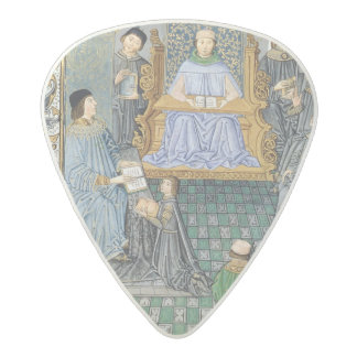 Frontispiece of Antonio de Nebrija's  'Gramatica' Acetal Guitar Pick