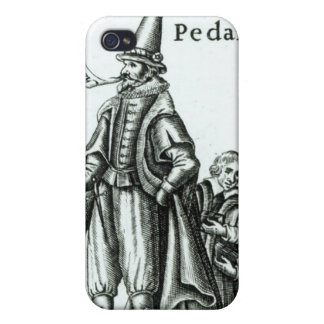 Frontispiece of 'Pedantius' Covers For iPhone 4