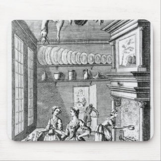 Frontispiece of 'The Compleat Housewife' Mouse Mat