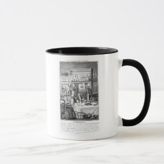 Frontispiece of 'The Housekeeper's Instructor' Mug