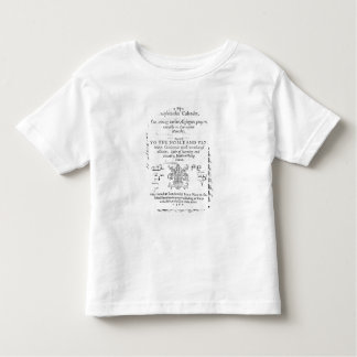 Frontispiece of 'The Shepeards Calender' Toddler T-Shirt