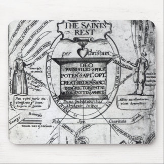 Frontispiece,  'The Saints Everlasting Rest' Mouse Mat