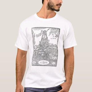 Frontispiece to an agricultural almanach T-Shirt