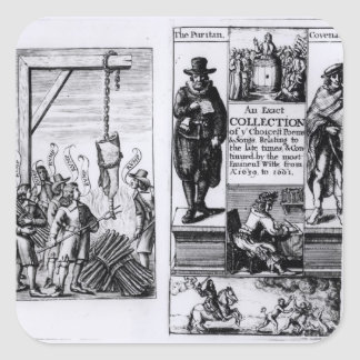 Frontispiece to 'An Exact Collection of Square Sticker