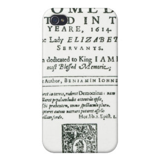 Frontispiece to 'Bartholomew Fair' iPhone 4/4S Covers
