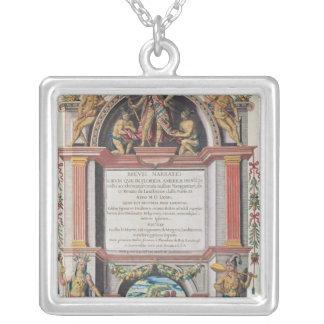 Frontispiece to 'Brevis Narratio' Necklace
