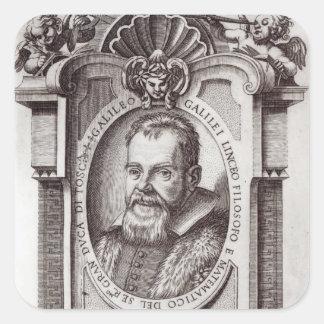 Frontispiece to 'Il Saggiatore' by Galileo Square Sticker