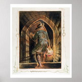 Frontispiece to 'Jerusalem' (Bentley Copy E) 1804- Poster