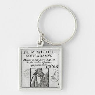 Frontispiece to 'Les Propheties de M. Michel Key Ring