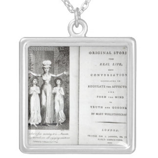 Frontispiece to 'Original Stories from Real Silver Plated Necklace
