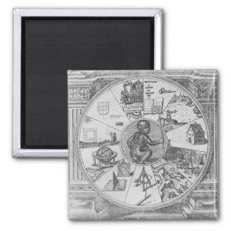 Frontispiece to Robert Fludd's Utriusque Square Magnet